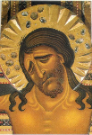Cabeza del cristo/ Maestro toscano