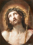 El cristo coronado de espinas/ Guido Reni