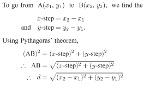 2. Distance Formula Explanation