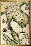 แผนที่แสดงอาณาเขตประเทศไทย
