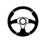 steering-wheel-vector-black-white-background-39812135