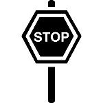 sinal-de-transito-urbano-rua-de-parada-em-hexagono-em-um-poste_318-61996
