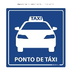 placa-ponto-de-taxi-colorida