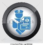 policial-multa-ícone-ilustração_csp16431422