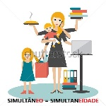 stock-vector-multitask-woman-mother-businesswoman-with-baby-older-child-working-cooking-and-calling-376584916