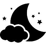 simbolo-noite-de-lua-com-uma-nuvem-e-as-estrelas_318-56088