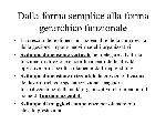 Dalla+forma+semplice+alla+forma+gerarchico+funzionale