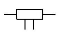 резистор постоянный с отводами