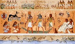 66325316-ancient-egypt-scene-mythology-egyptian-gods-and-pharaohs-hieroglyphic-carvings-on-the-exterior-walls-Stock-Photo