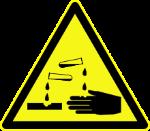 220px-DIN_4844-2_Warnung_vor_Aetzenden_Stoffen_D-W004.svg