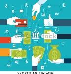 infographic-financial-flowchart-for-clipart-vector_csp21009456