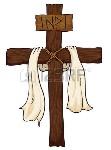 69331632-croce-santa-con-un-tessuto-attorno-ad-esso-e-un-segno-con-testo-inri-in-sfondo-bianco