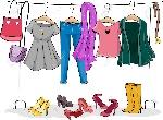 28829940-ilustración-con-un-estante-de-ropa-completa-de-mujer-ropa