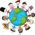 14557856-los-niños-multiculturales-en-el-planeta-tierra-la-diversidad-cultural