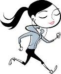 pessoa correndo