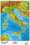 cartina fisica dell'Italia