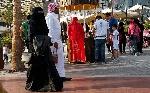 arab-couple-walking
