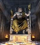 zeux sur son trone