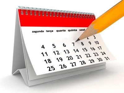Calendário ano