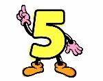 numero-5-lettere-e-numeri-numeri-1117787