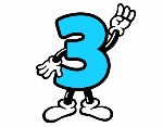 numero-3-lettere-e-numeri-numeri-1071263