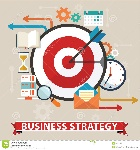 concepto-de-la-estrategia-empresarial-diseño-plano-elegante-aislado-en-fondo-del-color-53187942