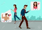 69341152-the-guy-and-the-girl-walking-on-the-street-towards-each-other-and-browsing-social-networks-gives-to-