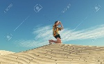 81344630-image-of-a-man-lost-in-desert-looking-for-a-way-this-is-a-3d-render-illustration