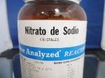 nitrato de sodio