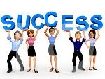 business success clip