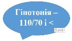 гіпотонія