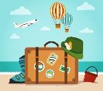 Férias-ilustração-de-férias-viagem