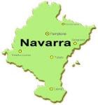 Mapa Comunidad Navarra.