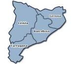 Mapa Cataluña.