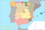 17 Comunidades autónomas, España.