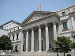 Congreso diputados Madrid.