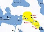 BABILONIA SULLE RIVE DELL'EUFRATE