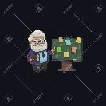 32371027-carácter-profesor-diseña-en-la-pizarra