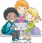 tablet-kids-eps-vectors_csp16117430